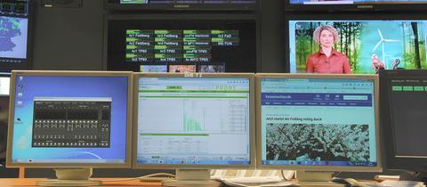 Betriebszenzentrale des Hessischen Rundfunks
