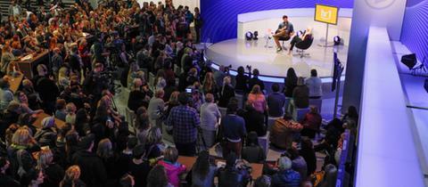 ARD-Bühne auf der Buchmesse
