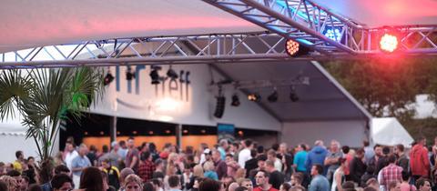 """Publikumsmagnet: der """"hr-Treff"""" auf dem Hessentag"""