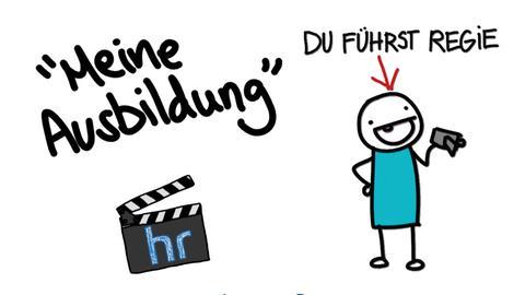 """Motive aus dem Trailer zu """"Meine Ausbildung"""" von Coldmirror"""