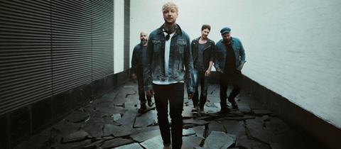 Die finnische Band Sunrise Avenue