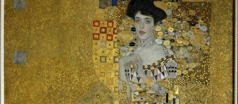 Das Portrait Adele Bloch-Bauer von Gustav Klimt