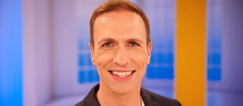 hr-Moderator Mathias Münch