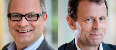 Jörg Rheinländer und Dr. Harald Kieffer