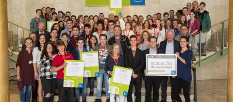 "Preisverleihung des Schulradio-Projekts ""school.fm"""