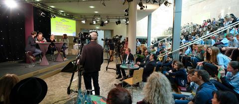 Die Abschlussdiskussion des Medienprojektes #95neuethesen