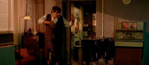 """Szene aus dem Psychothriller """"Goster"""", in der Titelrolle Bruno Cathomas"""