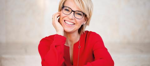 """""""Hallo Hessen""""-Moderatorin Andrea Ballschuh"""