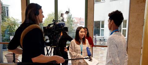 180 Schüler*innen können in diesem Jahr bei COME ON in die Arbeit in einem Medienunternehmen hereinschnuppern.