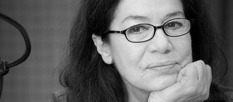 """Hannelore Elsner während der Aufnahmen zum Hörspiel """"Leo Kaplan""""."""