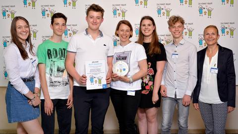 Innovationspreis: Die August-Bebel-Schule aus Offenbach
