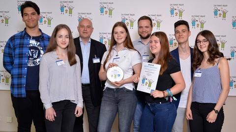 Bester Newcomer: Die Comenius-Schule aus Herborn