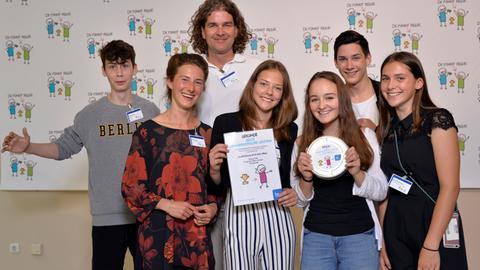 Beste schauspielerische Leistung: Die Friedrich-Ebert-Schule aus Pfungstadt