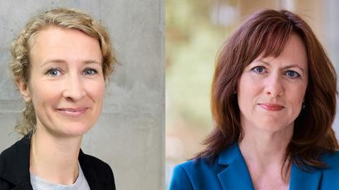 Andrea Schafarczyk und Ute Wellstein