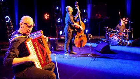 """Die Band Tango Transit bei der Sendung """"Bühne frei"""""""