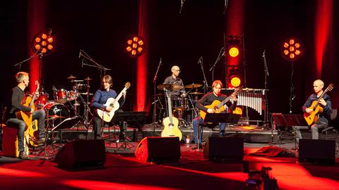 "Das Barrios Guitar Quartet bei der Sendung ""Bühne frei"""