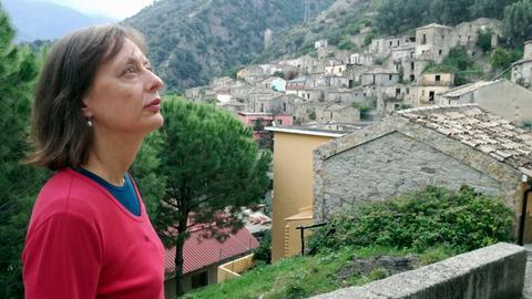 Antonella Berta in San Luca d'Aspromonte