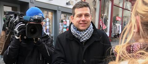 Philipp Engel und sein Team