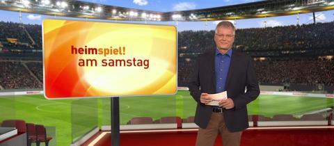 """Heiko Neumann moderiert das """"Heimspiel! am Samstag"""""""