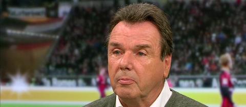 """HSV-Chef Heribert Bruchhagen in der Sendung """"Heimspiel!"""" im hr-fernsehen"""