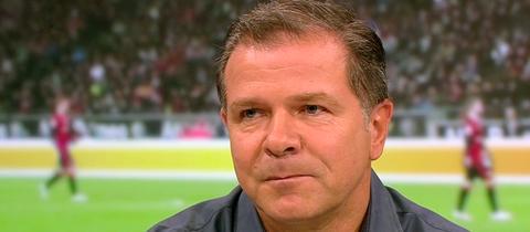Andreas Möller im Fernsehstudio