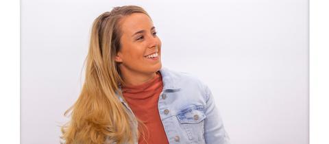 Die neue Hessentipp-Moderatorin Rebecca Rühl