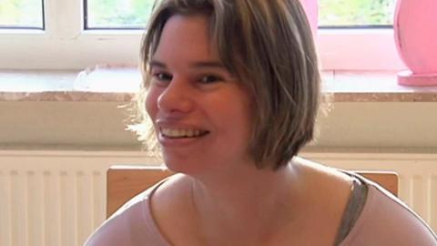 Silke Prosser aus Königstein ist geistig behindert und Autistin