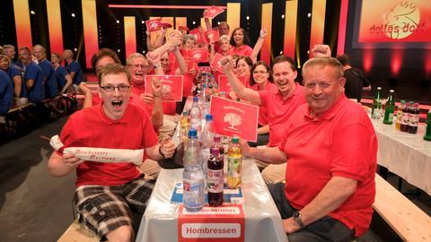 """Fans aus Hombressen beim """"Dollen Dorf""""-Finale"""