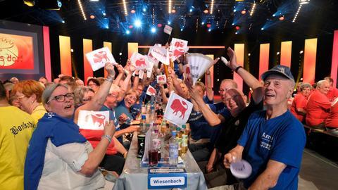 """Fans aus Wiesenbach beim """"Dollen Dorf""""-Finale"""