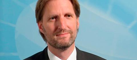 AfD-Politiker Carsten Härle im hr-Kandidatencheck