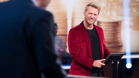 Moderator Jens Pflüger
