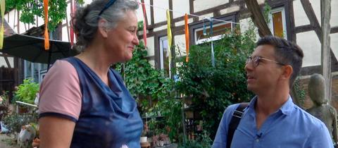 Daniel Mauke mit Jacqueline Herrmann