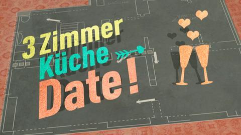 """Das Logo der Sendung """"3 Zimmer, Küche, Date"""""""