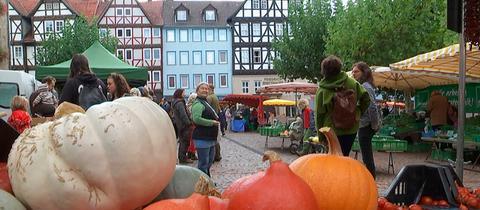 """Der """"Bio Feierabendmarkt"""" in Witzenhausen"""