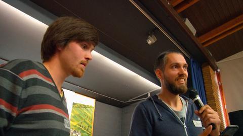 Die Brüder Matthias und Christian Zinke