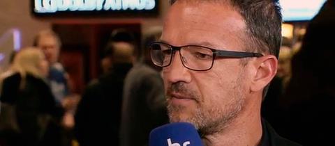 """Eintracht-Sportvorstand Fredi Bobic in der Sendung """"Heimspiel!"""" im hr-fernsehen"""