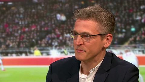 """Der langjährige Bundesliga-Torwart Hans Jörg Butt im """"Heimspiel!"""" im hr-fernsehen"""