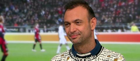 """DHB-Vizepräsident Bob Hanning in der Sendung """"Heimspiel!"""" im hr-fernsehen."""