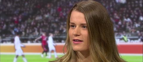 """Bobfahrerin Anna Köhler in der Sendung """"Heimspiel!"""" im hr-fernsehen"""