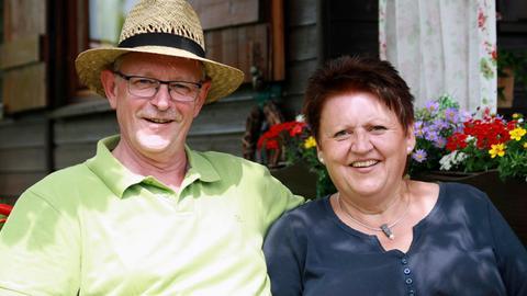 Die Gastgeber aus Kassel: Norbert und Konny Rissmann