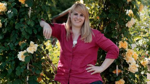 Die Gartenexpertin Lisa-Marie Schmandt