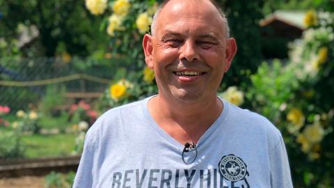 Peter Richter, der Gastgeber aus Niddatal-Assenheim