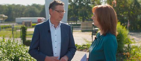 Ute Wellstein im Sommerinterview mit Thorsten Schäfer-Gümbel (SPD)