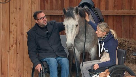 """Der """"Pferdeflüsterer"""" Timo Ameruoso mit Steffi Völker"""