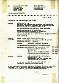 """Der erste Ablauf der """"Hessenschau"""" von 2. Januar 1961"""