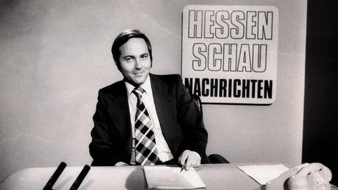 """Hans-Joachim Scherbening war über 20 Jahre für die Präsentation der Nachrichten in der """"Hessenschau"""" zuständig."""