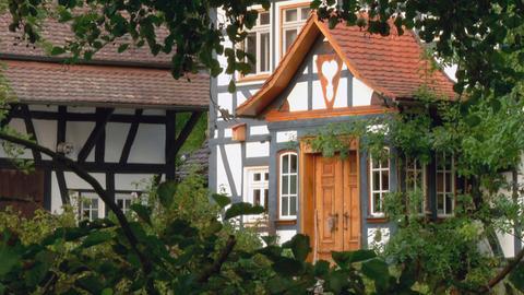 Fachwerk in Ober-Ohmen im Vogelsberg