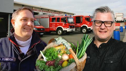 Klaus Breinig kocht für die Feuerwehr Kelkheim