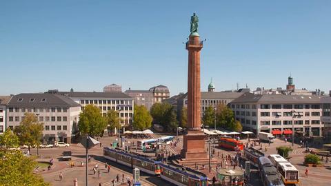 Luisenplatz in Darmstadt