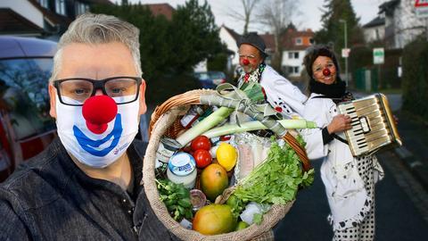 Klaus kocht für Clowndoktoren